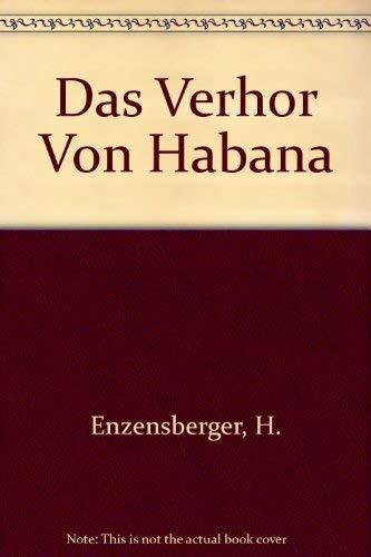 9783518105535: Das Verhor Von Habana