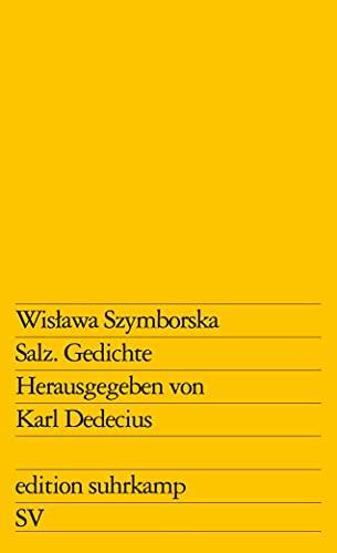 Salz: Gedichte: Wislawa Szymborska