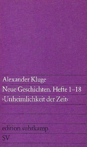 9783518108192: Neue Geschichten: Hefte 1-18 :