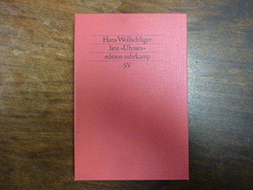 Hans Wollschläger liest Ulysses. Mit Tonband- Cassette.: Joyce, James