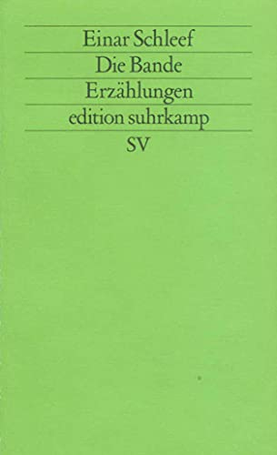9783518111277: Die Bande (Edition Suhrkamp)