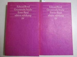 Collected Works Gesammette Stucke (In German) (3518113402) by Edward Bond
