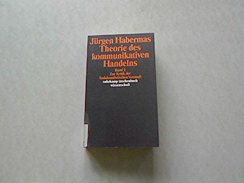 9783518115022: Theorie des kommunikativen Handelns, 2 Bände