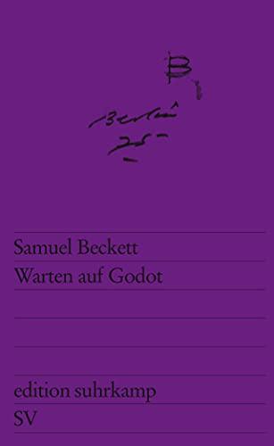 Warten auf Godot: Faksimileausgabe (edition suhrkamp): Samuel Beckett