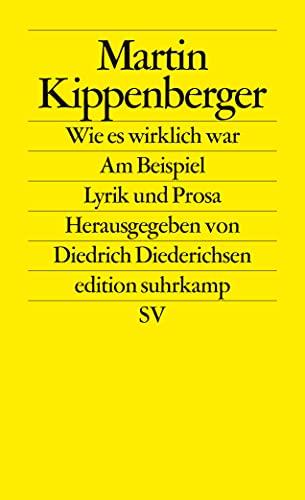 Wie es wirklich war - Am Beispiel: Kippenberger, Martin