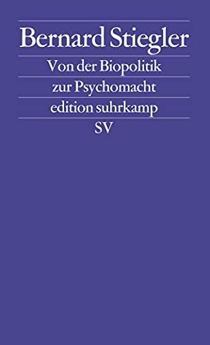 9783518125755: Logik der Sorge 2. Von der Biopolitik zur Psychomacht