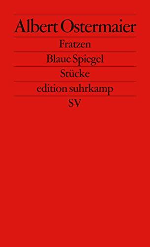 9783518125878: Fratzen. Blaue Spiegel: Stücke