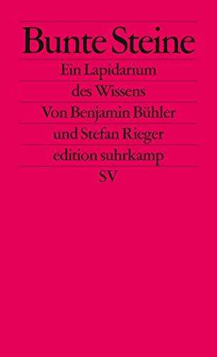 9783518126554: Bühler, B: Bunte Steine