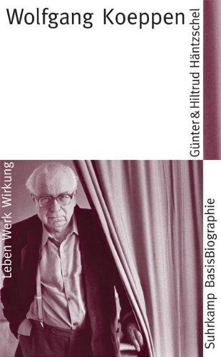 9783518182123: Wolfgang Koeppen