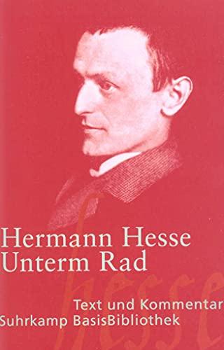 9783518188347: Unterm Rad