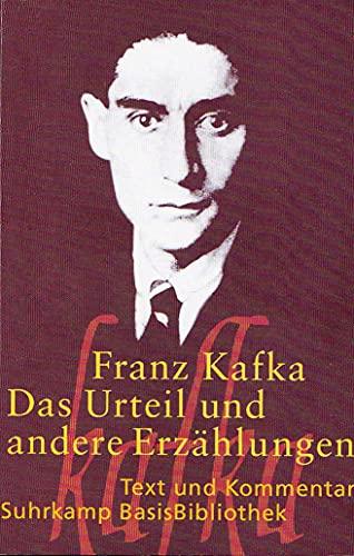 Das Urteil und andere Erzählungen. M. e.: Kafka, Franz: