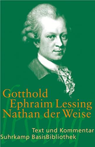 9783518188415: Nathan der Weise: Ein dramatisches Gedicht, in fünf Aufzügen. Text und Kommentar