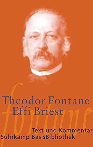 9783518188477: Effi Briest: Text und Kommentar
