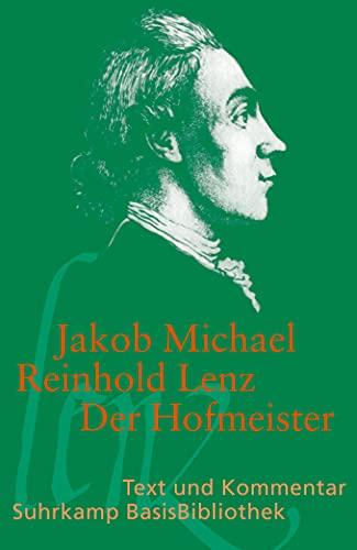 9783518189085: Der Hofmeister