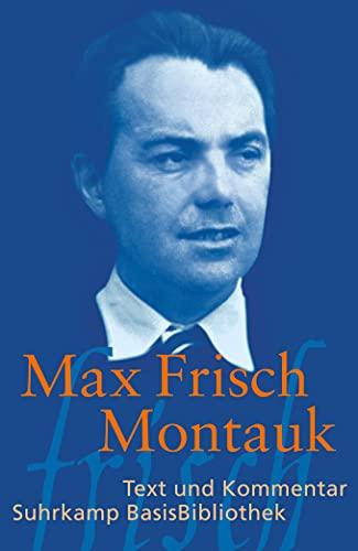 9783518189207: Max Frisch, Montauk
