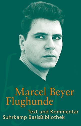 9783518189252: Marcel Beyer: Flughunde