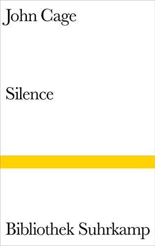 Silence: Cage, John /