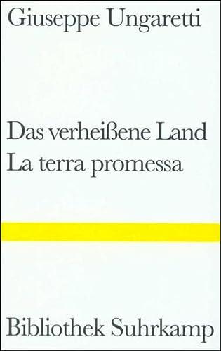 Das verheissene Land / La terra promessa / Das Merkbuch des Alten / Il taccuino del ...