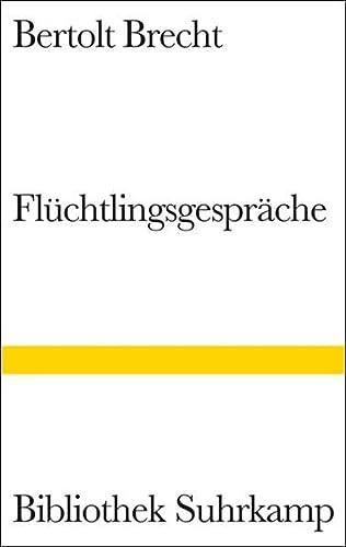 Flüchtlingsgespräche. (9783518222744) by Brecht, Bertolt