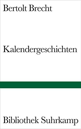 9783518223437: Kalendergeschichten