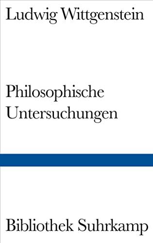 9783518223727: Philosophische Untersuchungen