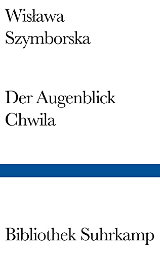 9783518223963: Augenblick / Chwila