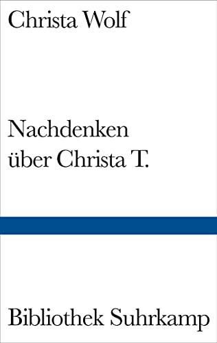 9783518224045: Nachdenken über Christa T