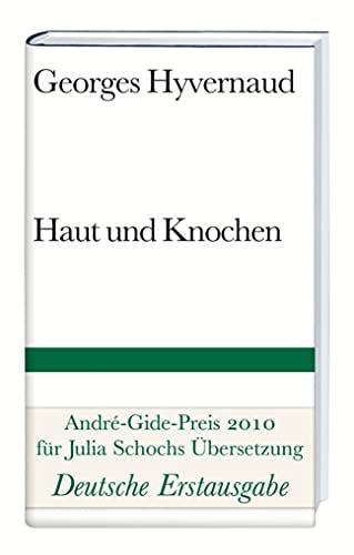 9783518224564: Haut und Knochen: Roman
