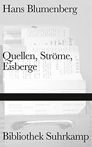 9783518224694: Quellen, Ströme, Eisberge