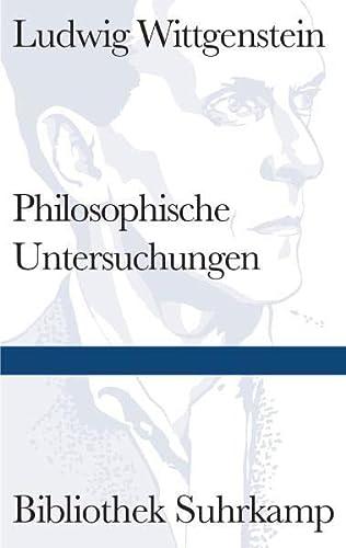 9783518240106: Philosophische Untersuchungen