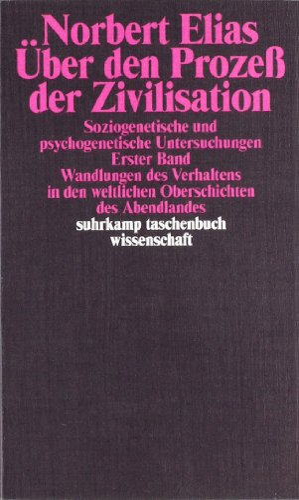 9783518277584: Über den Prozeß der Zivilisation 1.