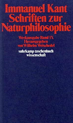 9783518277911: Schriften Zur Naturphilosophie