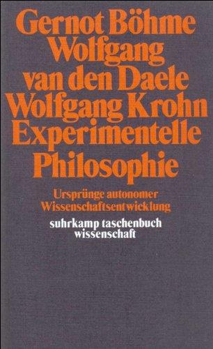 9783518278055: Experimentelle Philosophie