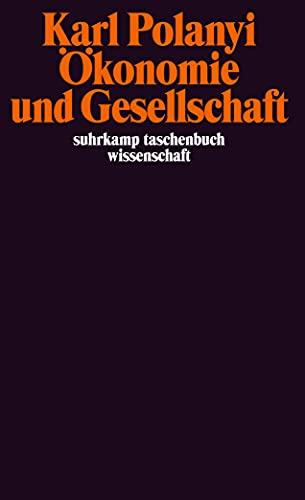 9783518278956: Ökonomie und Gesellschaft: Mit einer Einleitung von S.C. Humphreys (suhrkamp taschenbücher wissenschaft)