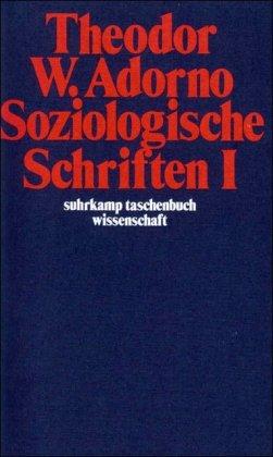 9783518279069: Soziologische Schriften I (suhrkamp taschenbuch wissenschaft)
