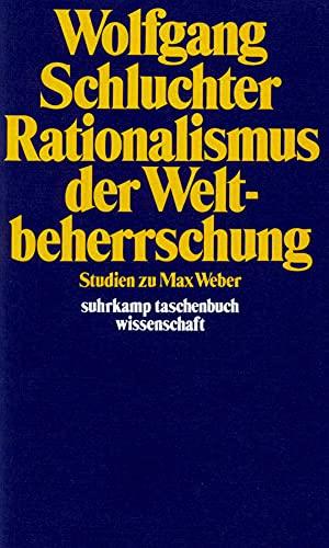 9783518279229: Rationalismus der Weltbeherrschung