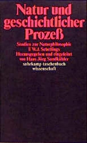9783518279977: Natur und geschichtlicher Prozess: Studien zur Naturphilosophie F.W.J. Schellings : mit einem Quellenanhang als Studientext und einer Bibliographie (Suhrkamp Taschenbuch Wissenschaft) (German Edition)