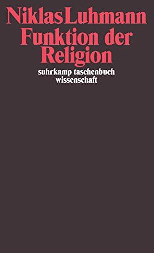 Funktion der Religion: 407: Luhmann, Niklas