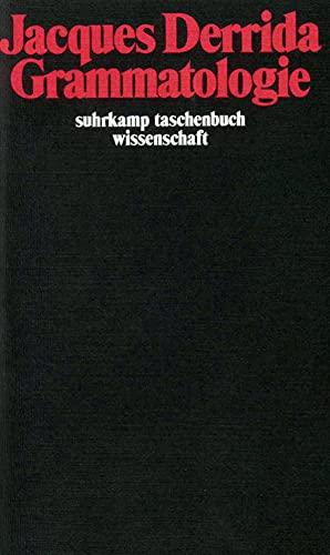Grammatologie (Paperback): Jacques Derrida