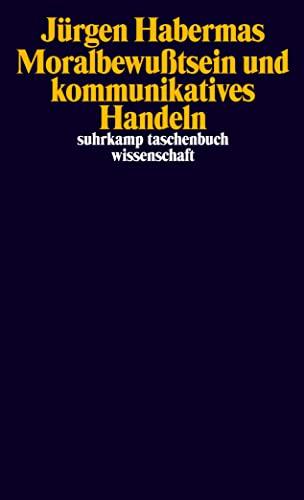 9783518280225: Moralbewußtsein und kommunikatives Handeln (Suhrkamp Taschenbuch. Wissenschaft)