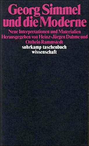 Georg Simmel und die Moderne: Neue Interpretationen: Georg-simmel