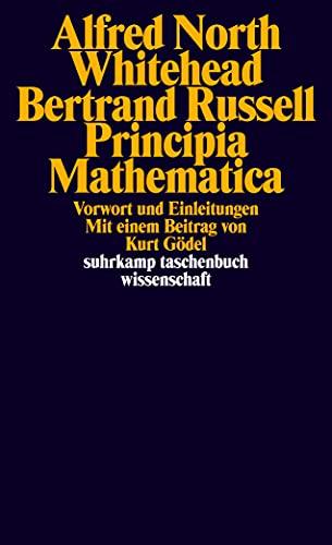9783518281932: Principia Mathematica: Vorwort und Einleitungen