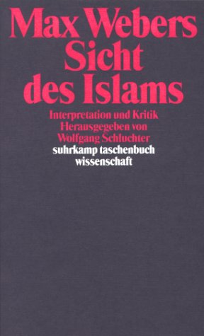 9783518282380: Max Webers Sicht des Islams: Interpretation und Kritik