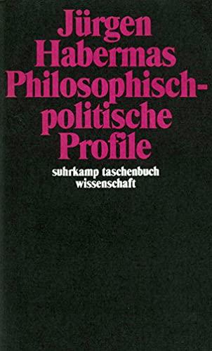 9783518282595: Philosophisch-Politische Profile