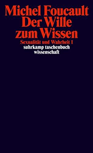 9783518283165: Sexualität und Wahrheit 1. Der Wille zum Wissen.