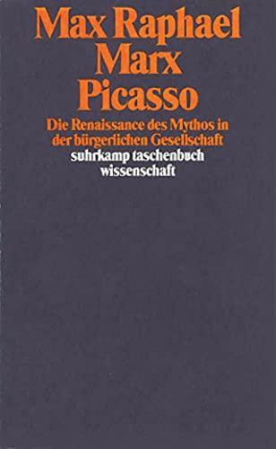 9783518284315: Marx, Picasso