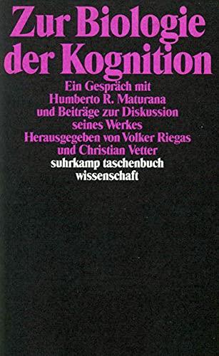 9783518284506: Zur Biologie der Kognition