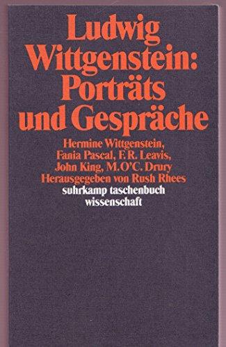 9783518285855: Porträts und Gespräche.