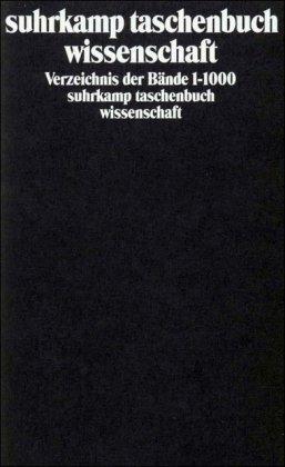 9783518286005: Verzeichnis der Bände 1-1000