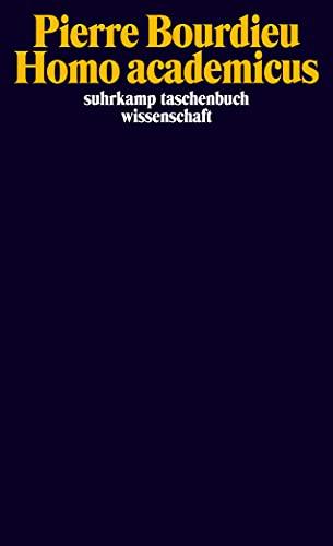Homo academicus. (German Edition): Pierre Bourdieu